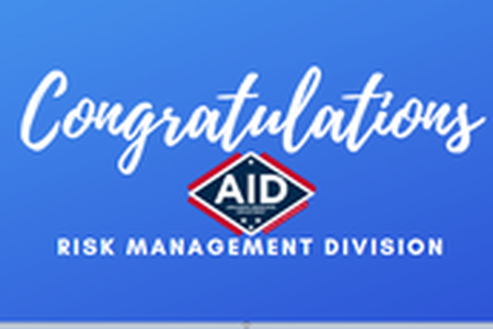 AR Insurance Department Risk Management Division Recognized