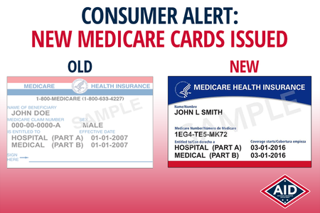 CONSUMER ALERT: New Medicare Cards Coming