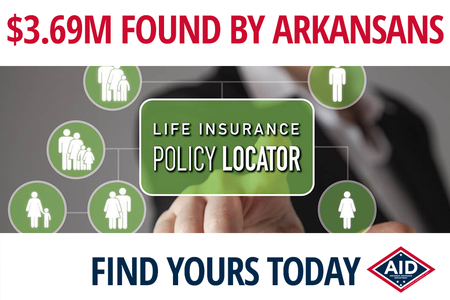 Arkansans Find $3.69M With Life Insurance Policy Locator