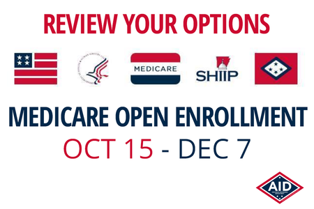 Medicare Open Enrollment Starts October 15