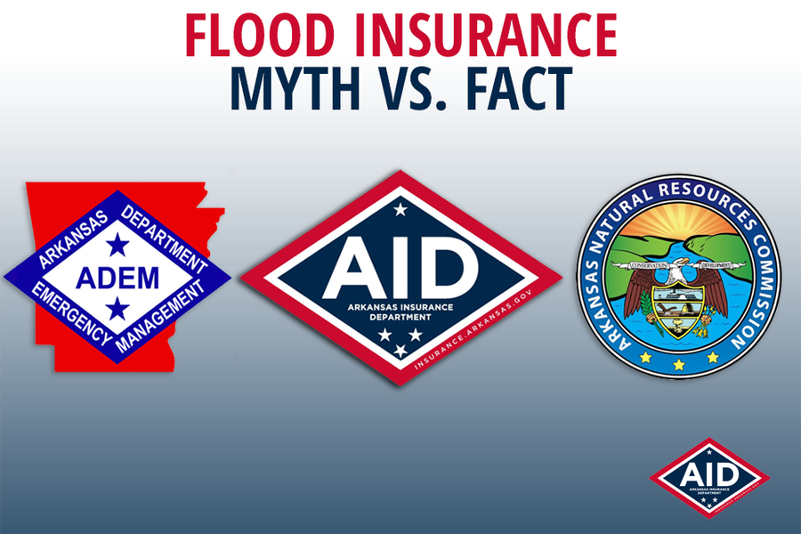 Myth Vs. Fact: Arkansas Flood Insurance Availability
