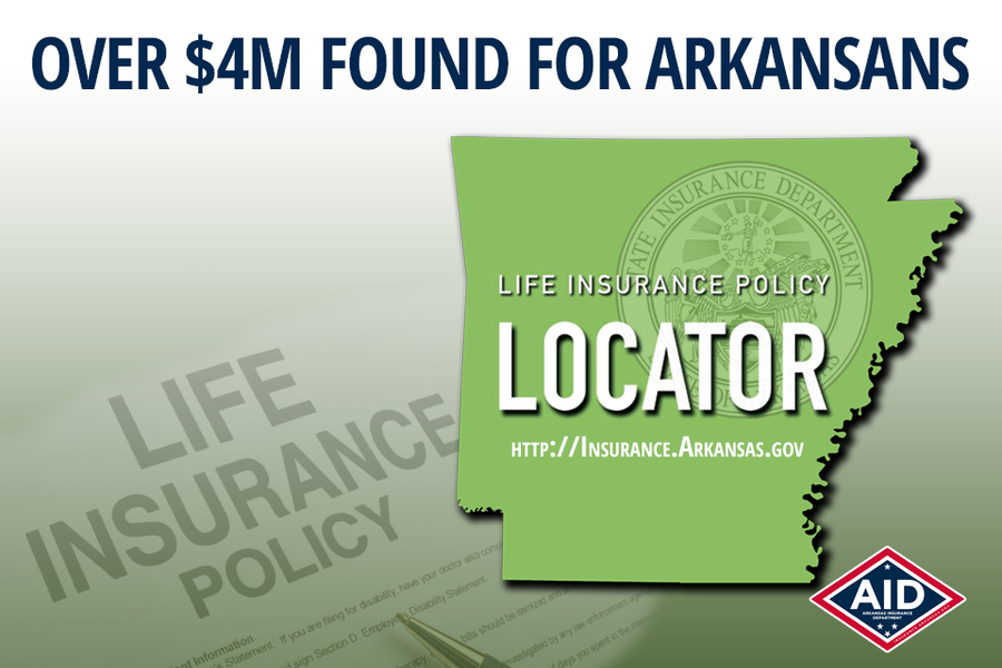 Lost Policy Locator Finds Over $4M for Arkansans